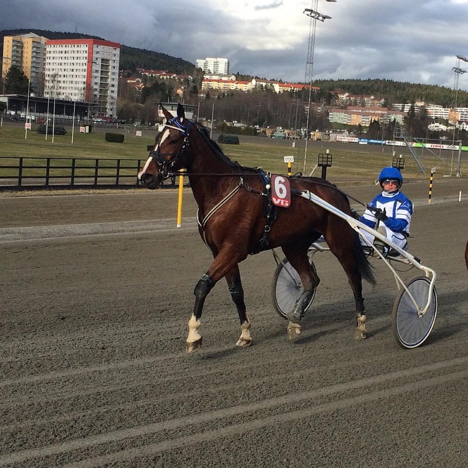Enjoythediva S.C. og Lars Fredrik Kolle ute i prøveløp på Bjerke